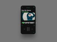 Music App Layout