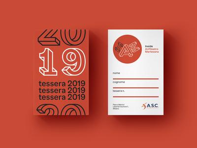 Circolo IAM - Inside Anfiteatro Martesana 2019 Membership Card