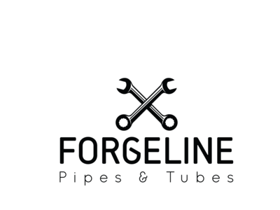 Logo design for a steel and pipe company