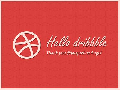 Hello Dribbble hello dribbble debut thanks thank you