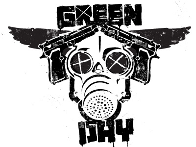 Green Day Graphic Tee for Retail