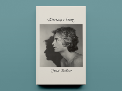 'Giovanni's Room' by James Baldwin –Cover Concept - v01 typography publishing publication design cover design concept book cover design book cover book