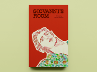 'Giovanni's Room' by James Baldwin – Cover Concept - v01 illustration typography publishing publication design cover design concept book cover design book cover book