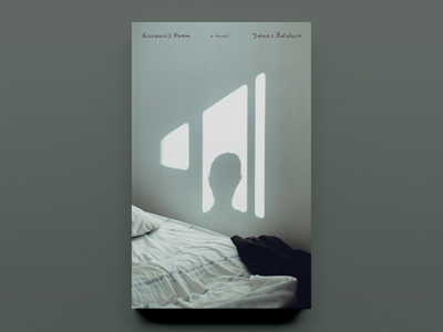 'Giovanni's Room' by James Baldwin – Cover Concept - v03 typography publishing publication design cover design concept book cover design book cover book