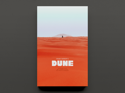 'Dune' by Frank Herbert – Cover Concept design book graphic design typography book cover book cover designer book cover design publication design publishing cover design