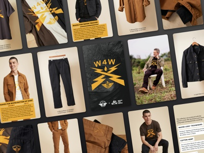 Dockers x Waves For Water Lookbook design dockers clothing fashion lookbook creative direction graphic design