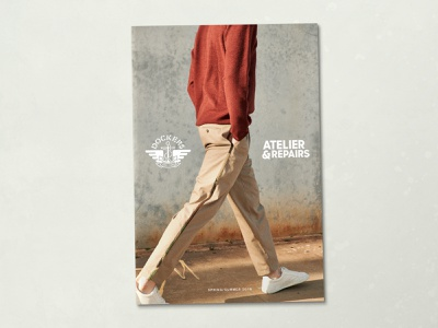 Dockers / Atelier & Repairs Lookbook creative direction dockers fashion lookbook design graphic design