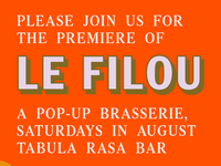 Le Filou – Marketing Flyer