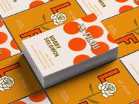 Le Filou –Business Cards