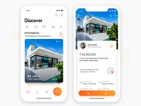 Redesign Concept for OLX App by Binish George for RapidGems