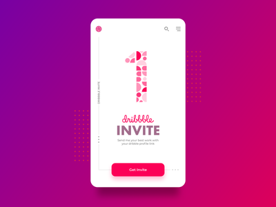 Dribbble Invite xd invites invite giveaway invite design adobe designer uiux vector design adobexd minimal interaction design