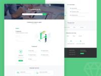Trademark service - web design
