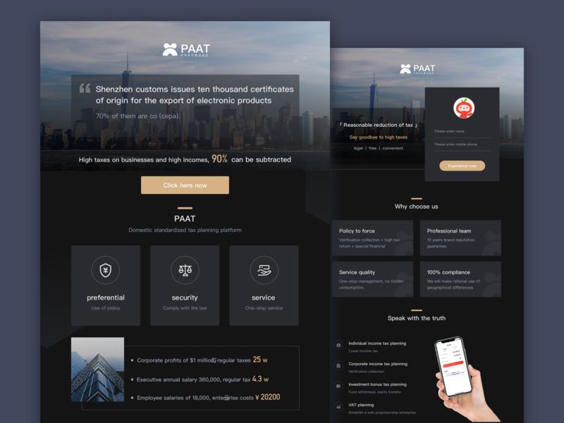 PAAT Introduction product web webdesign website iocn uiuxdesign uiuxdesigner illustration design dailyui ui uidesign dribbble