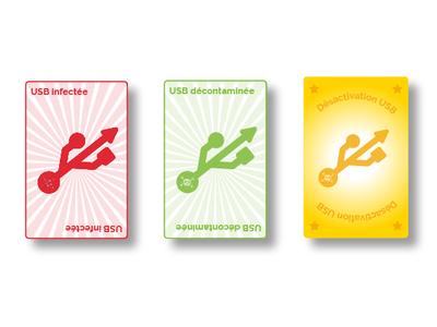 """Cards """"USB"""""""