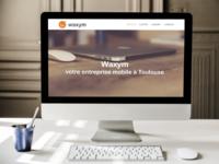"Website template ""Waxym"""