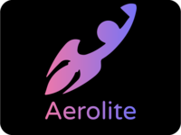 Logo rocketship
