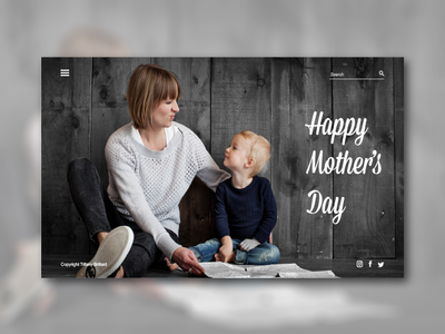 Happy mother's Day! motherday19 happymotherday motherday webdesign uiinspiration ui designinspiration design