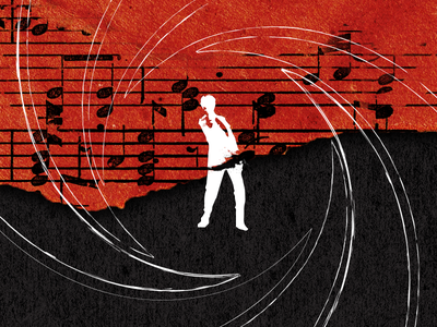 Bond music james bond bond illustration longreads