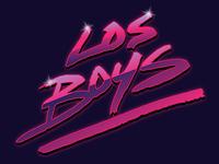los boys band logo