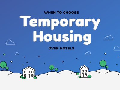 Infographic - Hotels vs Temporary Housing