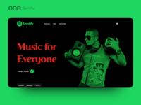 Daily UI 008 — Spotify
