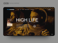 Daily UI 009 — FILMLOVERSS