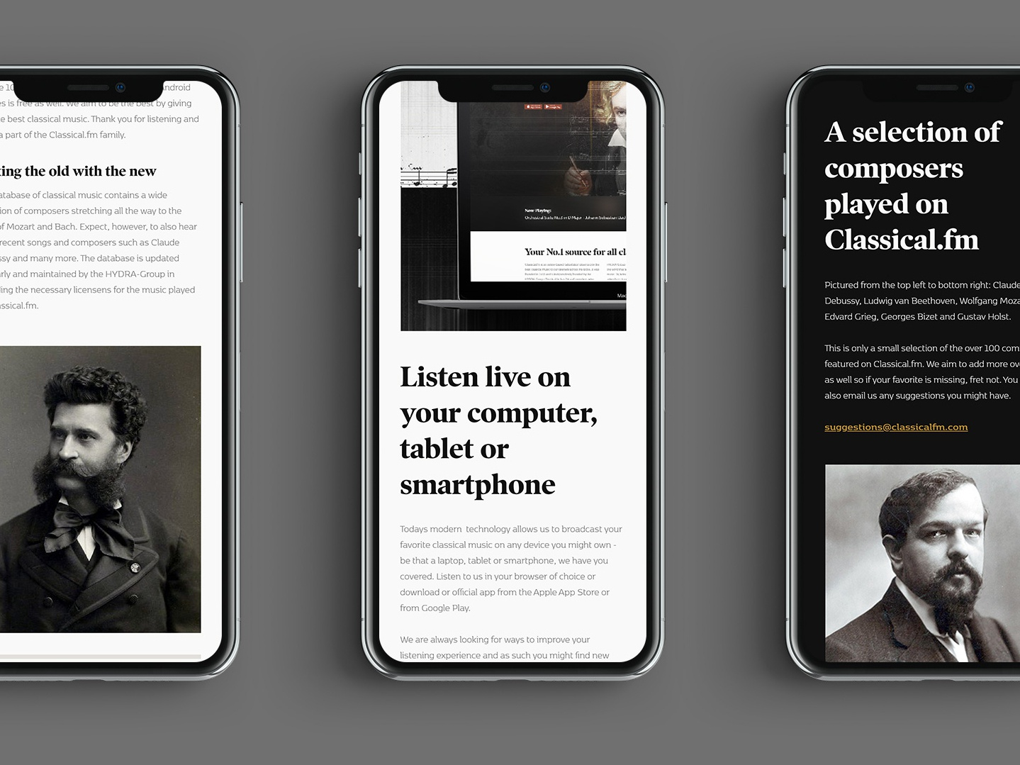 Classical FM by Mikael Andreasson on Dribbble