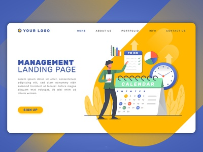 Management Landing Page