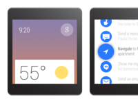 Android Wear GUI Elements