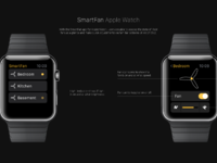 Smartfan applewatch attachment