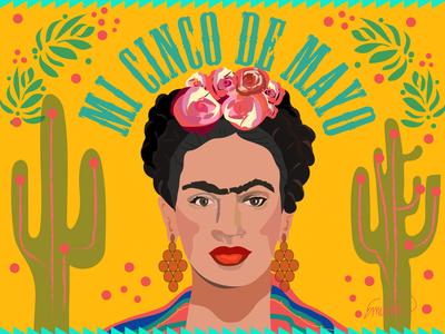 Frida Cinco de mayo Poster