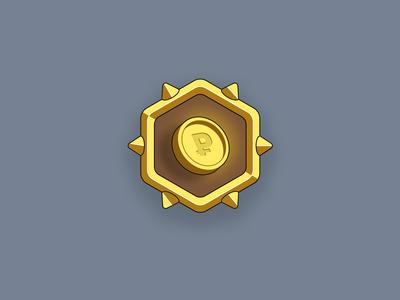 Achievement icon — Coin