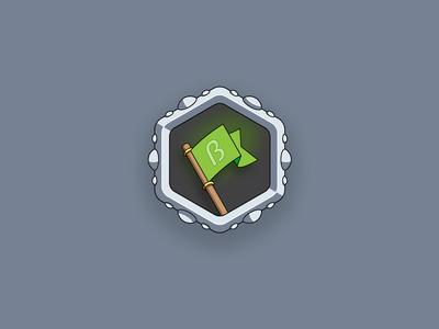 Achievement icon — Flag beta tester