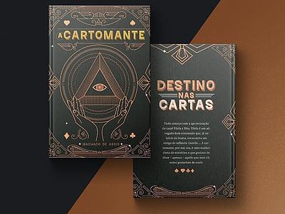 A cartomante: Machado de Assis indesign template indesign book cover book ilustração realidade aumentada desenhar