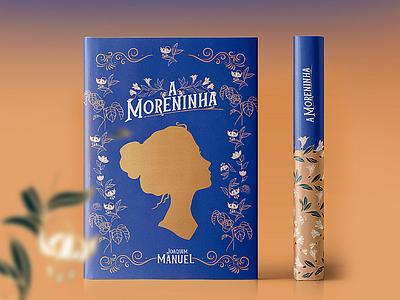 A moreninha illustration book indesign template indesign book cover ilustração desenhar
