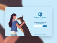 HappyFriends | Coming Soon page