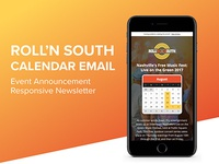 Email Marketing Design & Development - Roll'n South