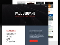 Website Design - Paul Goddard Design