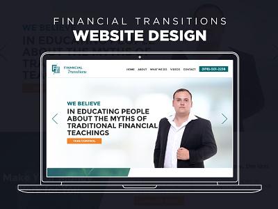Website Design - Financial Transitions responsive web design design graphic design web design