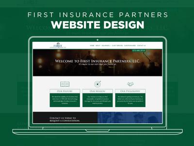 Website Design - First Insurance Partners responsive web design design graphic design web design