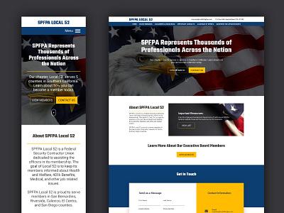 Website Design - Local 52 responsive web design design graphic design web design