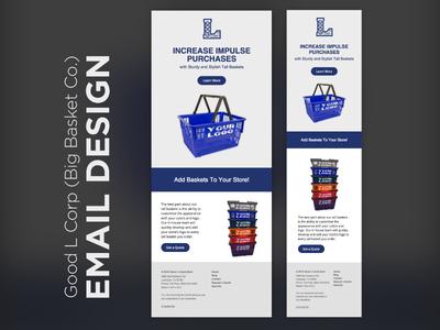 Email Design & Development - Good L email marketing graphic design web design email design