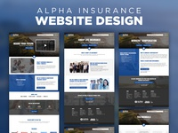 Website Design - Alpha Insurance