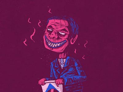 Bolsonazi terror brazil bolsonaro illustrator photoshop graphicdesign illustration