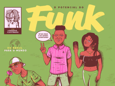 Brazilian Funk funkcarioca dance brazilian instagram graphicdesign illustration art brazil funk