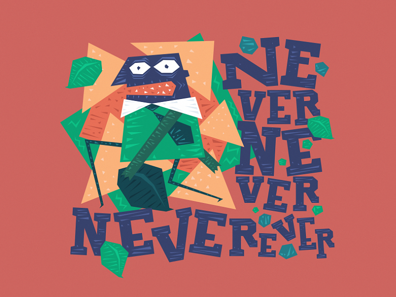 Neverever leaf ever never angry guy