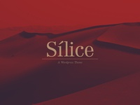Sílice Wordpress Theme