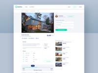 Property Details property search real estate web webapp app website product design desktop ux ui