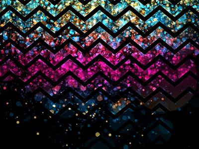 Experiment VI glitter case design experimental abstract sparkle