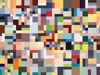 Digital Patchwork For Çanakkale Mosaic Stand